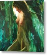 The Malachite Light Metal Print by Sergey Ignatenko