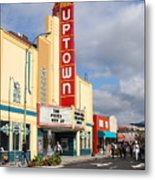The Marching Band At The Uptown Theater In Napa California . 7d8922 Metal Print by Wingsdomain Art and Photography