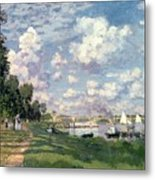 The Marina At Argenteuil Metal Print by Claude Monet