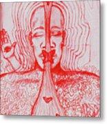 The Minds Eye Metal Print by Elizabeth Hoskinson