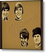 The Monkees  Metal Print by Movie Poster Prints