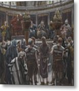 The Morning Judgement Metal Print by Tissot