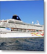 The Norwegian Sun Is Leaving Metal Print by Susanne Van Hulst