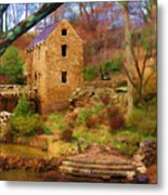 The Old Mill Metal Print by Renee Skiba