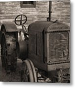 The Old Mule  Metal Print by Richard Rizzo