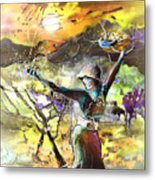 The Parable Of The Sower Metal Print by Miki De Goodaboom