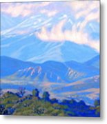The Passing Storm Metal Print by Elena Roche
