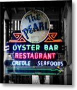 The Pearl Metal Print by Perry Webster