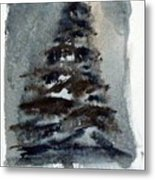 The Pine Tree Metal Print by Mindy Newman