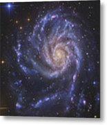 The Pinwheel Galaxy, Also Known As Ngc Metal Print by R Jay GaBany