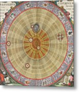 The Planisphere Of Copernicus Harmonia Metal Print by Science Source