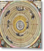 The Planisphere Of Ptolemy, Harmonia Metal Print by Science Source