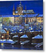 The Prague Panorama Metal Print by Yuriy  Shevchuk