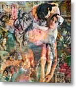 The Prophet On Eating And Drinking Metal Print by Barry Novis