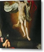 The Resurrection Of Christ Metal Print by Bartolome Esteban Murillo