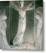 The Resurrection Metal Print by William Blake