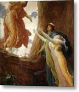 The Return Of Persephone Metal Print by Frederic Leighton