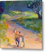 The Road Ahead Metal Print by Kimberly Santini