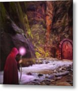 The Road Less Traveled Metal Print by John Edwards