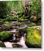 The Roaring Fork And Reagan's Mill Metal Print by Thomas Schoeller