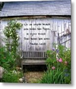 The Rose Or The Thorn Metal Print by Jen White