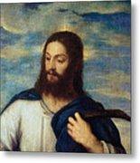 The Savior Metal Print by Titian