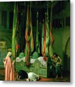 The Shrine Of Imam Hussein Metal Print by Jean Leon Gerome