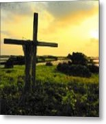 The Son And Sunset Metal Print by Sheri McLeroy