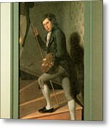 The Staircase Group Metal Print by Charles Wilson Peale