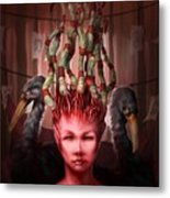 The Symbolist Metal Print by Ethan Harris