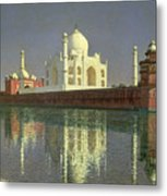 The Taj Mahal Metal Print by Vasili Vasilievich Vereshchagin