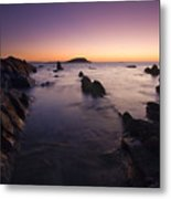 The Teeth Of Twilight Metal Print by Mike  Dawson