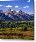 The Tetons II Metal Print by Robert Bales
