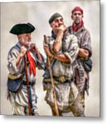 The Three Frontiersmen  Metal Print by Randy Steele