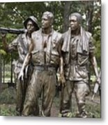 The Three Soldiers By Frederick Hart Metal Print by Everett