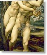 The Tree Of Forgiveness Metal Print by Sir Edward Burne-Jones