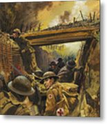 The Trenches Metal Print by Andrew Howat