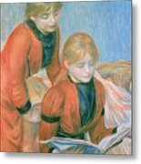 The Two Sisters Metal Print by Pierre Auguste Renoir