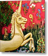 The Unicorn Metal Print by Genevieve Esson