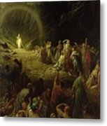 The Valley Of Tears Metal Print by Gustave Dore