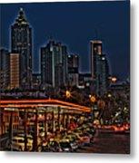 The Varsity Atlanta Metal Print by Corky Willis Atlanta Photography
