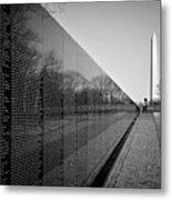 The Vietnam Veterans Memorial Washington Dc Metal Print by Ilker Goksen