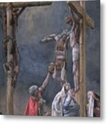 The Vinegar Given To Jesus Metal Print by Tissot