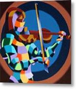 The Violinist Metal Print by Mark Webster