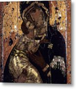 The Virgin Of Vladimir Metal Print by Granger