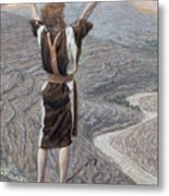 The Voice In The Desert Metal Print by Tissot