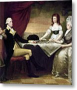 The Washington Family Metal Print by Granger