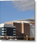 The Wells Fargo Center - Philadelphia  Metal Print by Bill Cannon