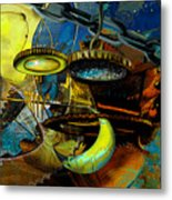The Wheelwork Of Antikythera  Metal Print by Anne Weirich
