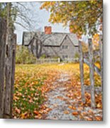 The Whipple House Metal Print by Susan Cole Kelly